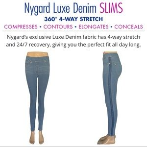 Nygard Luxe Denim Slims 360/4 Way Stretch Jegging